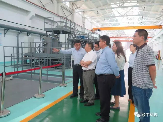 Zhijun,Miao, Deputy director of raw materials industrial division of Ministry of Industry and Information Technology, visited SMT